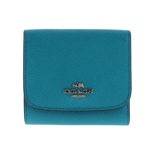d28c4e0b96 Shop Coach Womens Trifold Wallet Leather Card Holder - o/s - Free ...