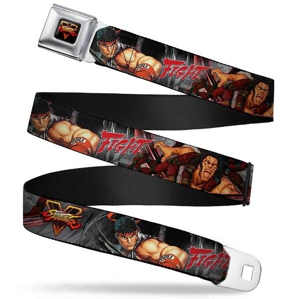 Street Fighter V Full Color Black Yellow Red Fade Street Fighter V Ryu Seatbelt Belt