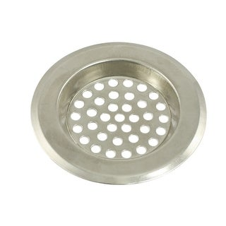 Holes Design Silver Tone Floor Drain Leakage Grate for Kitchen