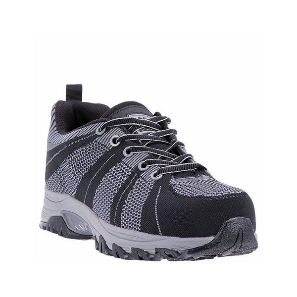McRae Industrial Work Shoes Mens Woven Composite Black MR83002