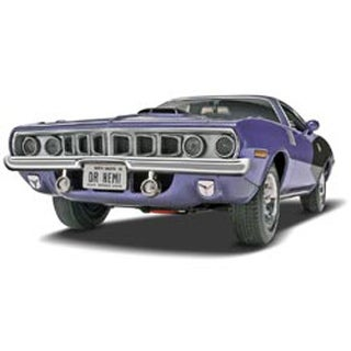 '71 Plymouth Hemi 'Cuda Hardtop 1:25 - Plastic Model Kit