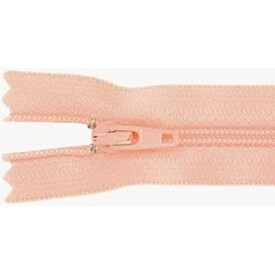 "Apricot - Ziplon Coil Zipper 14"""
