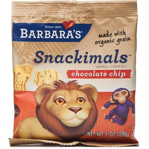 Barbara's Bakery - Chocolate Chip Snackimals Cookies ( 36 - 1 OZ)