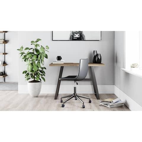 Carbon Loft Arsenio Grey Home Office Desk
