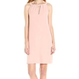 Jessica Simpson NEW Blush Pink Womens Size 2 Keyhole Sheath Dress
