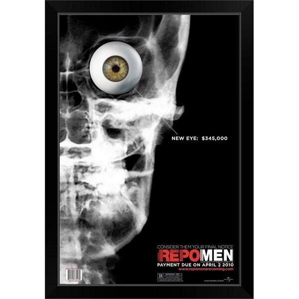 """""""Repo Men - Movie Poster"""" Black Framed Print"""