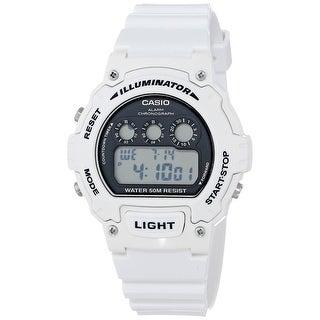 Casio Glossy White Digital Watch