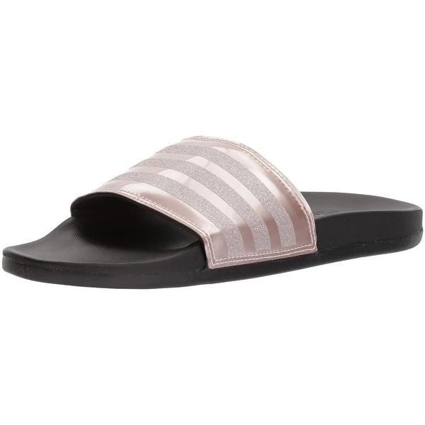 hot sales 7f070 4b79d Adidas Women Adilette Cf+ Explorer W Sport Sandal, Vapour Grey Met.Fabric,  Core