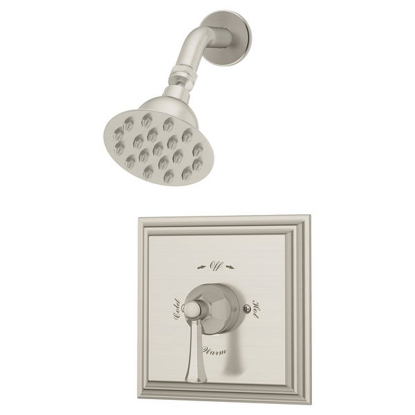 Symmons 4501-1.5-TRM Canterbury Shower Only Trim Package with 1.5 GPM Single Function Shower Head
