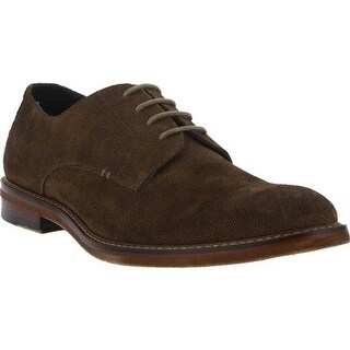 Spring Step Men's Buckster Oxford Brown Suede
