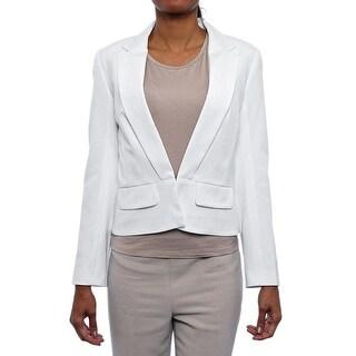 Trina Turk Sisters Blazer Basic Jacket Whitewash