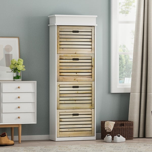 20-pair Shoe Cabinet. Opens flyout.