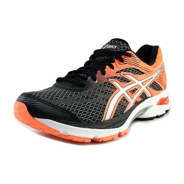 Shop Asics Gel Flux 4 Men Round Toe Synthetic Black Running