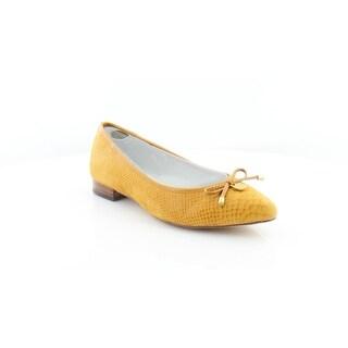 Anne Klein Ovi Women's Flats & Oxfords Dark Yellow