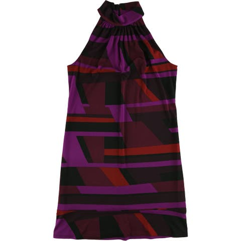 American Living Womens Abstract Shift Dress