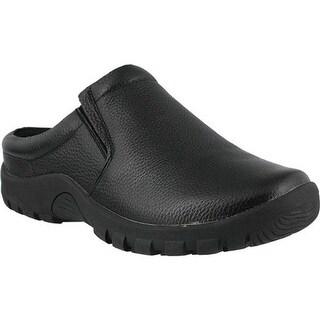 Spring Step Men's Blaine Black Leather