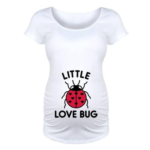 Little Love Bug - Maternity Scoop Neck Tee