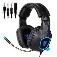 SADES SA818 Stereo Gaming Headsets Headphones for PS4 NewXbox One PC with Mic - black