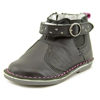 Stride Rite Isla Youth Round Toe Leather Ankle Boot