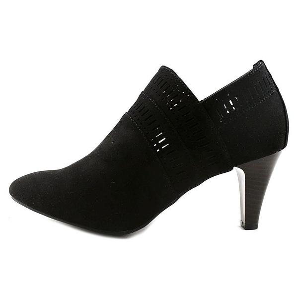Karen Scott Womens Marius Fabric Closed Toe Ankle Fashion Boots