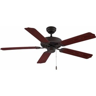"Volume Lighting V5953 5 Blade 52"" Indoor / Outdoor Ceiling Fan (3 options available)"