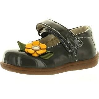 See Kai Run Girls Emily Mary Jane Shoes - gray - 3 m us infant