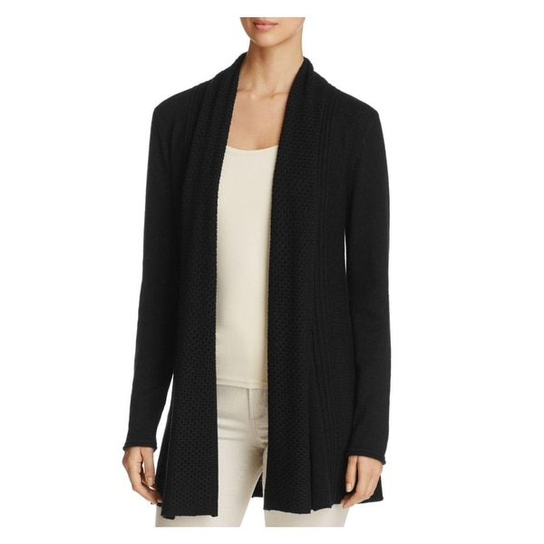 29fd144f1159 Shop Vila Milano Womens Cardigan Sweater Pleated Long Sleeves - Free ...