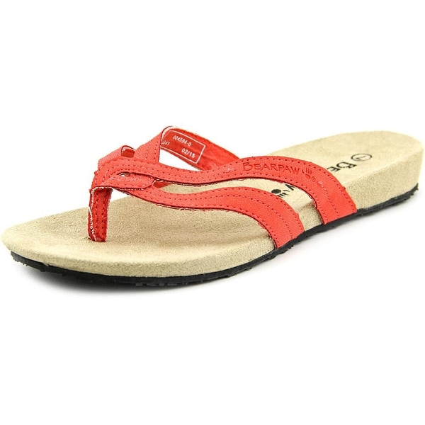 81f35917378f3 Shop Bearpaw Lola Open Toe Synthetic Flip Flop Sandal - Free Shipping On  Orders Over  45 - Overstock.com - 13710119