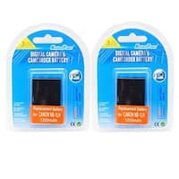 130x2 2 Piece NB-1LH Lithium-Ion Battery For Canon Digital Camera &
