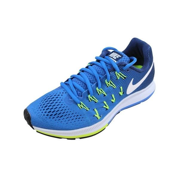 6d845fd63e6 Shop Nike Women s Air Zoom Pegasus 33 Fountain Blue White 831356-403 ...