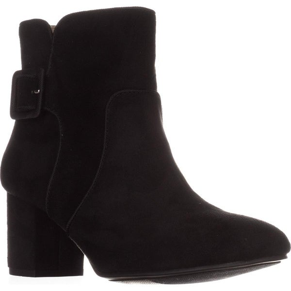 White Mountain Calisi Ankle Booties, Black