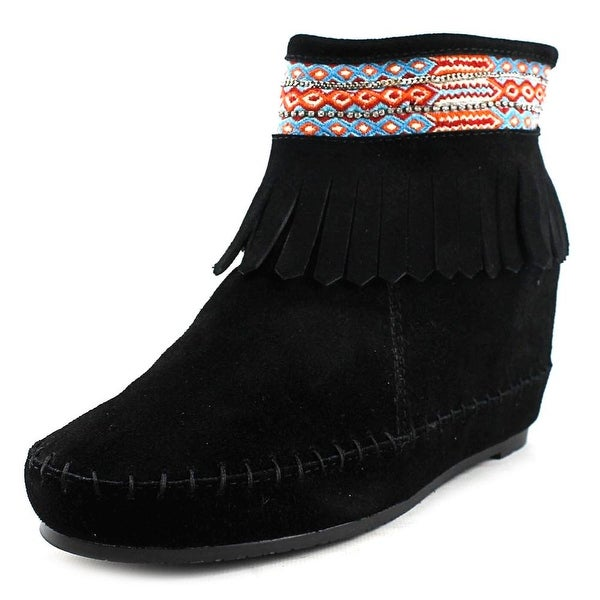 Kim & Zozi Muse Round Toe Suede Ankle Boot