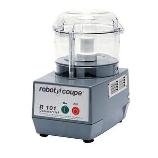 Robot Coupe - R101 B CLR - Commercial Food Processor w/ 2.5 Qt Clear Bowl