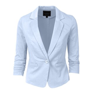 NE PEOPLE Women's 3/4 Sleeve Casual Blazer S-3XL [NEWJ100] (More options available)