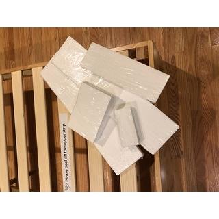 Priage by Zinus 14 inch Natural Wood Platform Bed