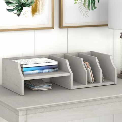 Key West Desktop Organizer with Shelves by Bush Furniture