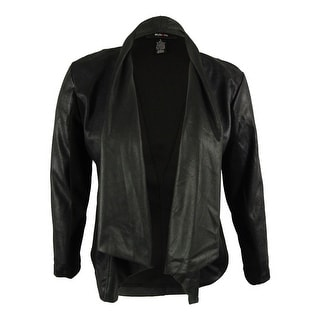 Style & Co. Women's Draped Front Jacket
