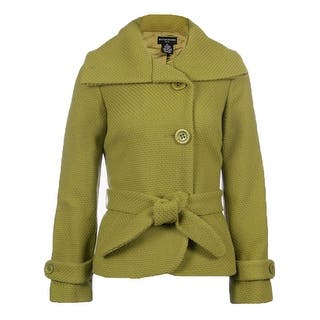 Sutton Studio Women's Wool Basketweave Jacket with Tie|https://ak1.ostkcdn.com/images/products/is/images/direct/017707e1d6dfeff0226b87cfd1ddc26215027e3f/Sutton-Studio-Women%27s-Wool-Basketweave-Jacket-with-Tie.jpg?impolicy=medium