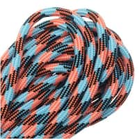 Paracord 550, Nylon Parachute Cord 4mm Thick, 16 Feet, Tropical Glow