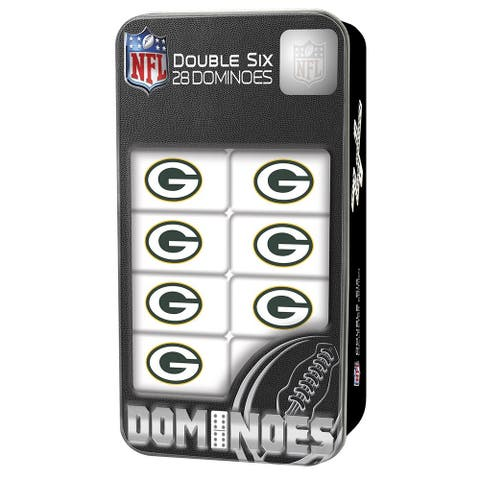 Green Bay Packers Double-Six Dominoes
