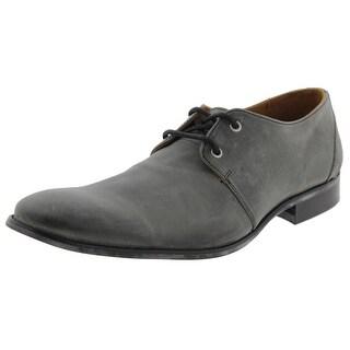 John Fluevog Mens Oxfords Leather Textured - 12 medium (d)