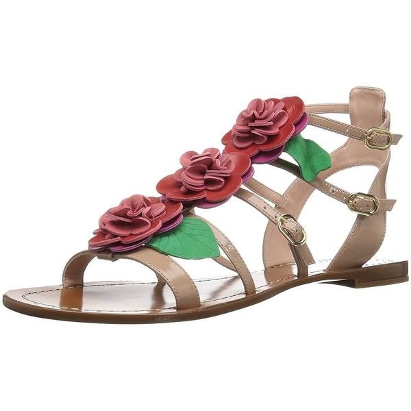 Kate Spade New York Womens Colombus Open Toe Casual Strappy Sandals