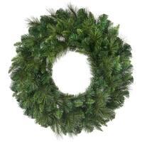 """Deluxe Belgium Wreath 30"""" 190 Tips-Two-Tone Green"""