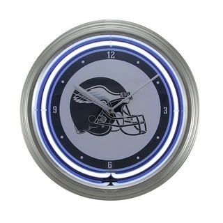 NFL Philadelphia Eagles 15 inch Neon Wall or Tabletop Clock - White