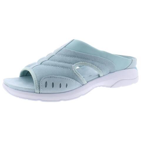 Easy Spirit Womens Traciee 2 Slide Sandals Open Toe Comfort