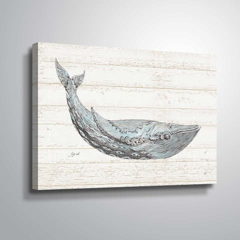 """Underwater Life I"" Gallery Wrapped Canvas"