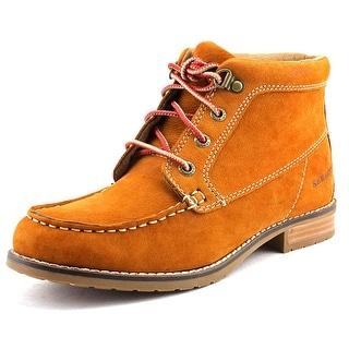 Sebago Wander   Round Toe Leather  Boot
