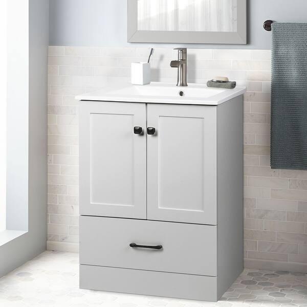 Sia 24 Bathroom Vanity Set Grey Overstock 32072646 Grey