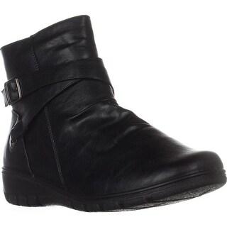 Easy Street Questa Comfort Ankle Booties, Black