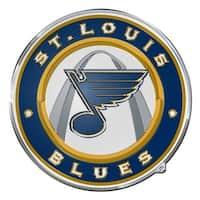 St. Louis Blues Auto Emblem - Color